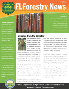 Florida Forest Service Newsletter