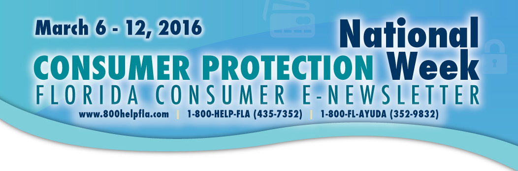 Florida Consumer E-Newsletter