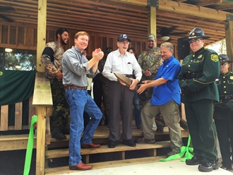Camp Prairie in the Lake Wales Ridge State Forest Dedication