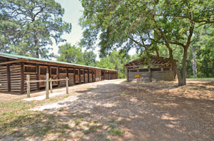 PHOTO: Horse Stalls at Tillis Hill.
