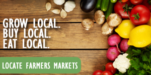 Text: Local Farmers Markets