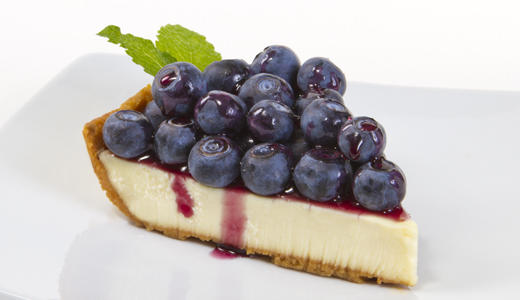 Florida Blueberry Cheesecake         ………