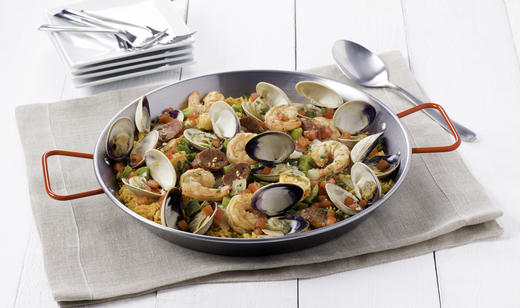 Florida Shrimp and Clams over Rice ………..