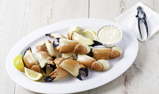 FOOD: Florida Stone Crab Claws with Key Lime Mustard Dipping Sauce ……….