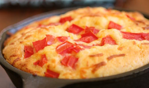 Pan de Maíz con Tomate de la Florida / Recetas en Español / Recipes ...