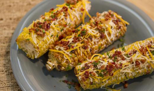 FOOD: Cheddar-Bacon Florida Sweet Corn ……