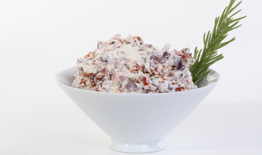 Florida Cream Cheese Spread With Sun-dried Tomatoes and Greek Olives ...