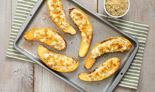 FOOD: Stuffed Florida Yellow Squash Parmesan …….