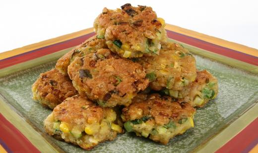 Native Florida Fry Bread (Florida Harvest Vegetable Fritters) ……..